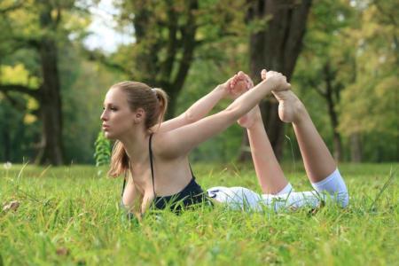 Le yoga sexy