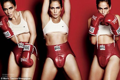 Jennifer Lopez se passionne pour la boxe