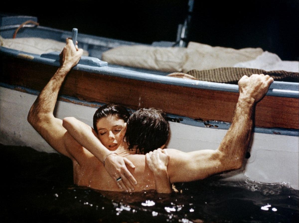 amour dans l'eau